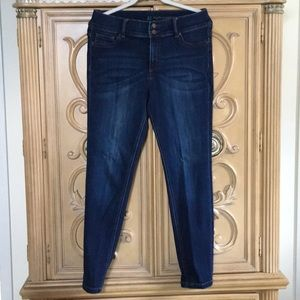 New York & Co high waisted jean leggings nwot 10